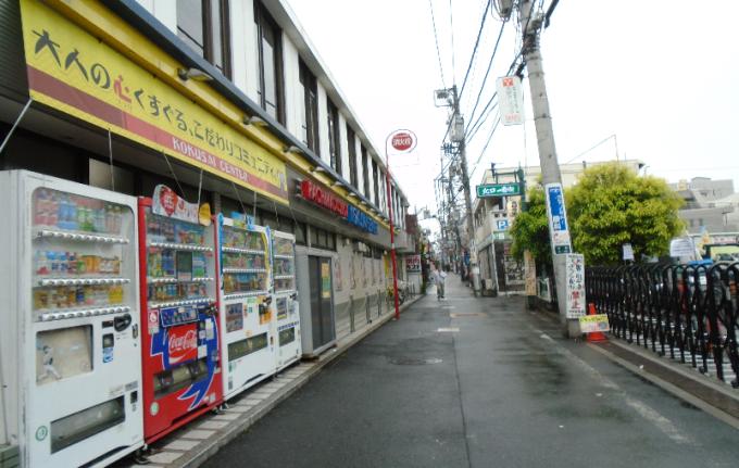 1 nakano alleyway vending